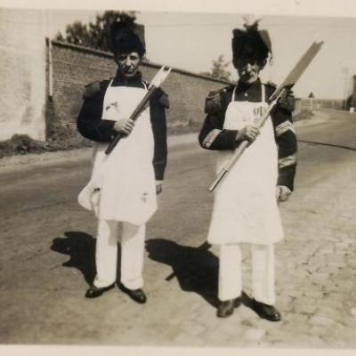 Aimé Coucharière (1948-9) et Jean-Baptiste Guyaux (1946 -7)