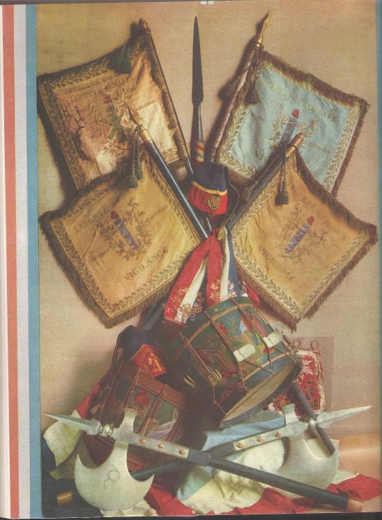 Drapeaux de la Révolution
